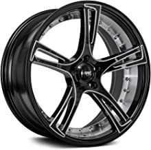 RTX Assassin Сustom Wheel Machined - Black with Machined Face 20