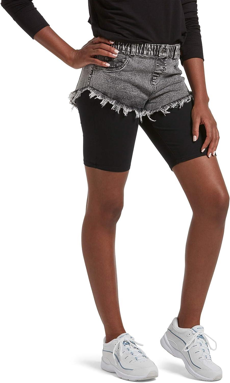 KENDALL + KYLIE Women's Cut-Off Denim Shorts
