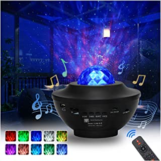 Star Projector, 2 in 1 Star Projector with LED Nebula...