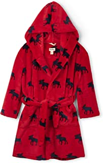 Hatley Boys' Fuzzy Fleece Robe