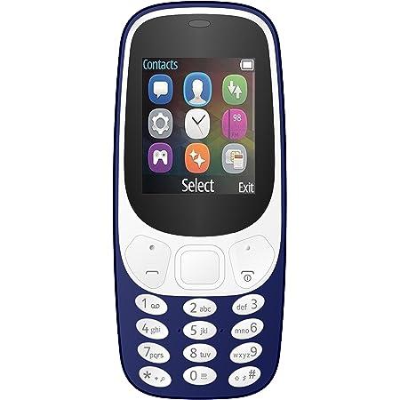 IKALL K3310 Dual SIM Mobile Phone with 1000mAH Battery and 1.8-inch Screen (Dark Blue)