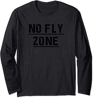 No Fly Zone Football Defense TShirt Long Sleeve T-Shirt