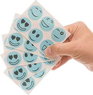 Mosquito and Bug Repellent Smiley Patches - 72 Count Simply Apply to Skin and Clothes – Adult, Kid and Pet-Friendly – Convenient for Travel, Outdoor Concerts, Camping and Barbeques