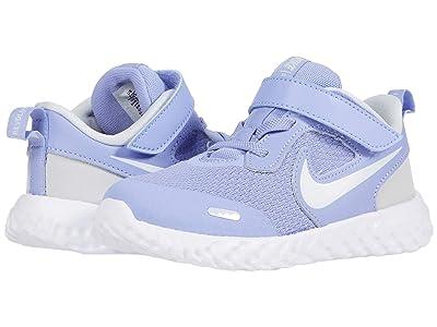 Nike Kids Revolution 5 (Infant/Toddler) (Light Thistle/White/Photon Dust) Girls Shoes