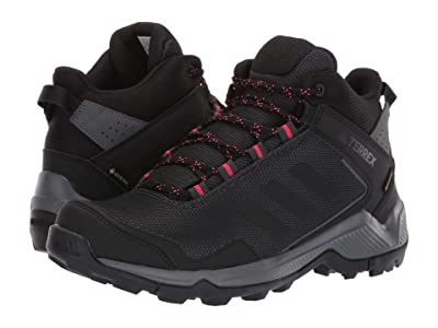 adidas Outdoor Terrex Entry Hiker Mid GTX (Carbon/Black/Active Pink) Women