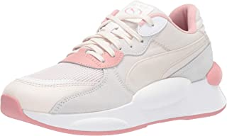 PUMA Women's RS 9.8 Space Fashion Sneakers Pastel Parchment White