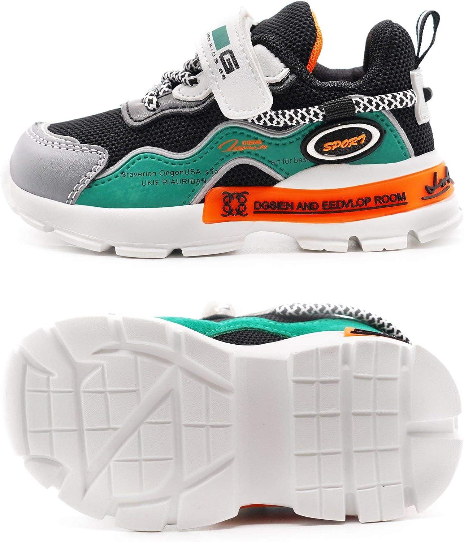 Toddler//Little Kid LARMAR Kids Sneakers Girls Boys Athletic Running Lightweight Breathable Tennis Sport Shoes