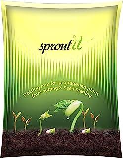 Divine Tree Sprout It Organic Seeds Germination Potting Soil Seeds Starter Mix Soil (4.5 Kg)