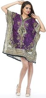 Kaftan Tunic Kimono Dress Ladies Summer Women Evening Short Maxi Party Plus Size 6-24