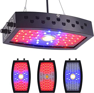GUANHONG COB LED Grow Light 1000W Ajustable Knobs Full Spectrum Panel Growing Lamp Suitable for Greenhouse Seedling Veg an...