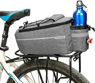 Lixada Bicycle Rack Bag Bike Handlebar Bag Bike Saddle Bag Cycling Bike