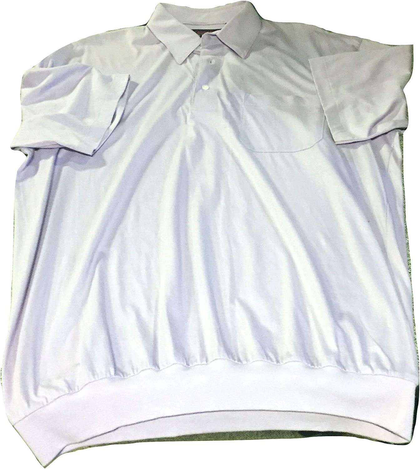 Cotton Mist by Enro Banded Bottom Big and Tall Lightweight Polo Shirts