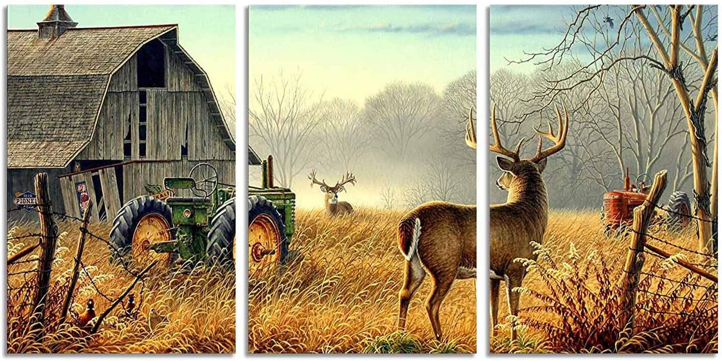 High Res Buck Image Rustic Home Decor Wildlife KitchenHome Decoration Gift for Hunter Deer Decoration Glass Cutting Board