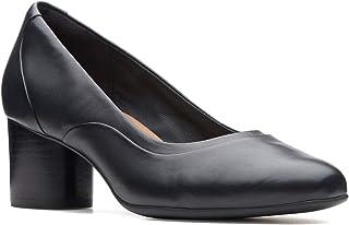 حذاء بكعب عالي اونكوزمو ستيب للنساء من كلاركس, (اسود), 38 EU