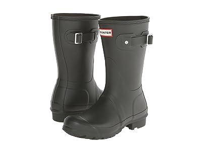 Hunter Original Short Rain Boots (Dark Olive) Women