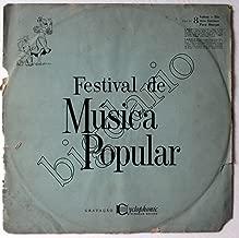 Lp Vinyl Record Hill Bowen & Orchestra Festival De Musica Popular By Seleçoes Reader's Digest Made in Brazil