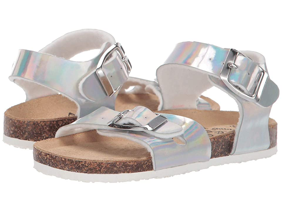 Primigi Kids PBK 34268 (Toddler/Little Kid) (Silver) Girls Shoes