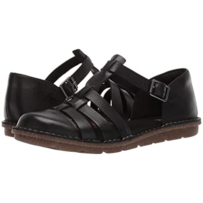 Clarks Blake Moss (Black Leather) Women