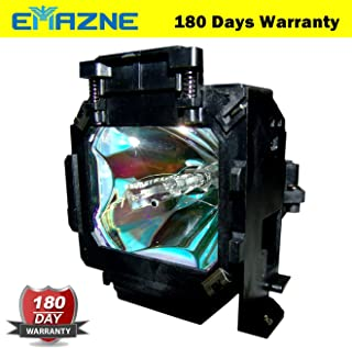 Emazne ELPLP17/V13H010L17 Projector Replacement Compatible Lamp With Housing For Epson Powerlite TW100 Epson EMP TS10 Epson EMP TW100 Epson TS 10 Epson TS 100 Epson PowerLite 52 Epson PowerLite TW-100