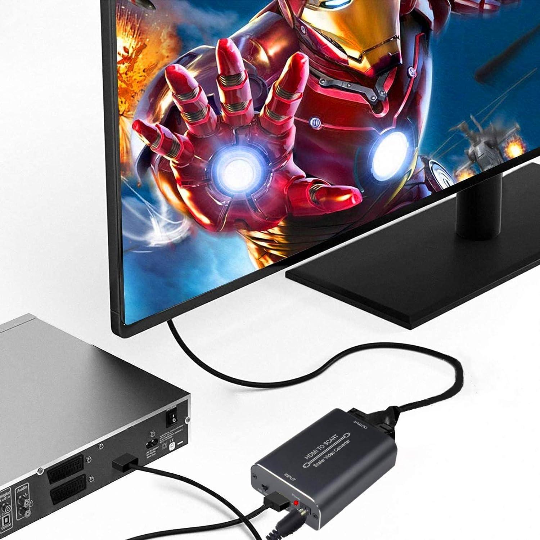 Adattatore HDMI SCART