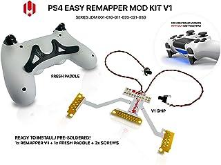 Placa para mando de PS4, Easy Remapper V1, kit DIY soldado con cambio de remaches FRESH-Paddle