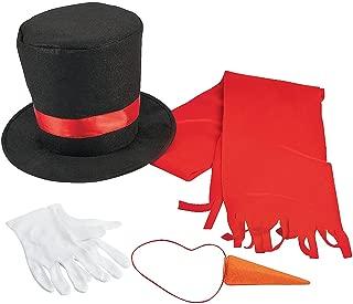 Fun Express Snowman Costume Kit (Adult)
