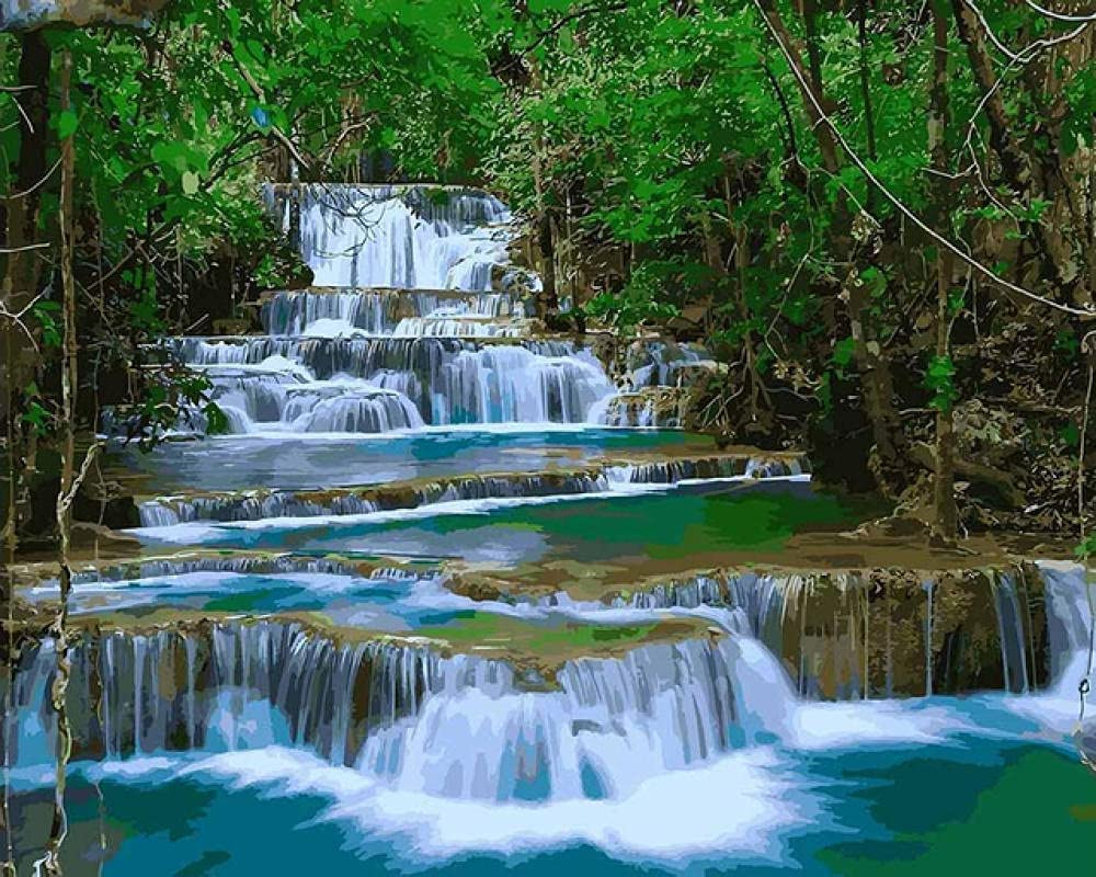 Puzzle Jigsaw Puzzles Waterfall 3000 Adults W Industry No. 1 for Pieces Ranking TOP2 Teens