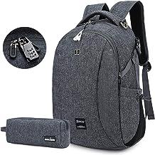 Laptop Backpack, Travel Business Backpacks for Women Men, Durable College School Bookbag 15