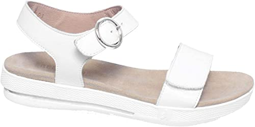 BENVADO Sandalen Sandalen Sandalen Carla 42001001 Damen Keilschuhe Weiß  100% authentisch