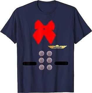 Flight Attendant Uniform Shirt, Funny Hostie Gift