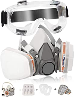 Dustproof Face Cover Zelcbuk Half Facepiece Reusable Face Cover Professional Half Face Paint Cover - Perfect for Painters ...