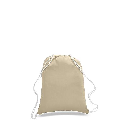 c3370c467550 Canvas Drawstring Bags: Amazon.com