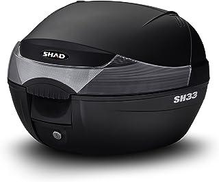 SHAD シャッド トップケース 33L 無塗装ブラック SH33 リアボックス バイク 通勤 通学 キーレス ワンタッチオープン