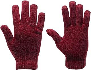 Gelert Womens Chenille Gloves Ladies