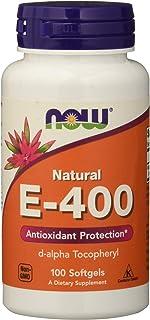 Now Vitamina E-400-100 Perlas