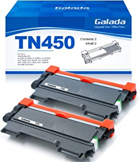 Galada Compatible Toner Cartridge Replacement for Brother TN450 TN420 TN-450 TN-420 for DCP-7060D DCP-7065DN HL-2230 HL-2240 HL-2270DW HL-2280DW Intellifax 2840 2940 MFC-7360N MFC-7860DW 2 Pack