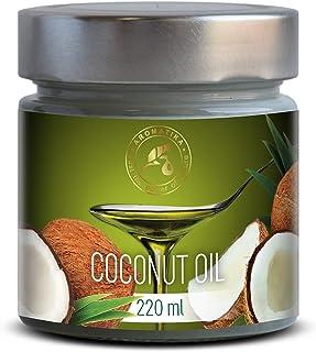 Aceite Comestible de Coco 220ml - Filipinas - 100% Puro & Naturale - Prensado en Frio - Aceite de Coco las Mejores Ideas para Tus Platos