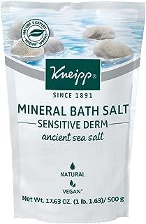 Kneipp Mineral Bath Sea Salt, Ancient Sea Salt 17.63 Oz