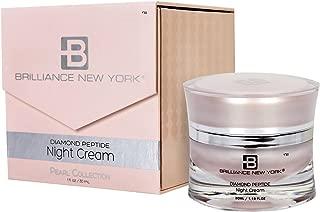 Brilliance New York - Pearl Collection Night Cream, Revolutionary Marine Complex Deeply Nourishes Skin Overnight, 1.19 fl oz (30 ml)