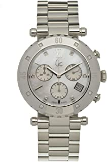 Guess Collection X42108m1s Gc Precious Diver Chic. Model Set with 14 Diamonds.