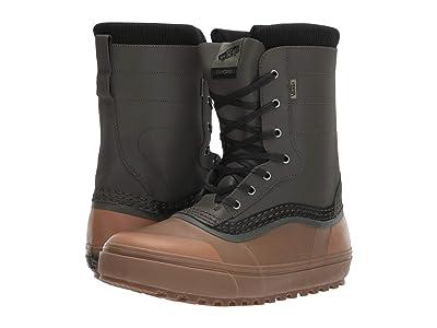 Vans Standardtm Snow Boot (Green/Brown) Men