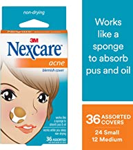 Nexcare Acne Cover, Gentle, Use on Face or Body, 36 count