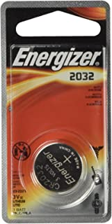 Energizer 2032BP2 Watch/Electronic/Specialty Battery, 2032, 3V, 2/Pack