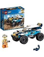 レゴ(LEGO) シティ 砂漠のラリーカー 60218 おもちゃ 車 ブロック おもちゃ 男の子 車