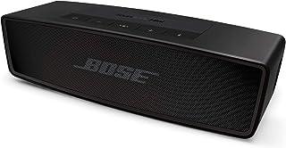Bose SoundLink Mini Bluetooth speaker II ポータブル ワイヤレス スピーカー スペシャルエディション マイク付 最大8時間 再生 防滴 12.7 cm (W) x 13.1 cm (H) x 5.6 cm...