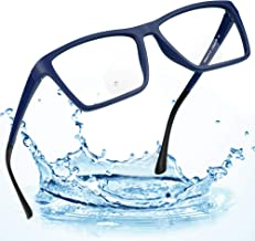 LifeArt Bifocal Reading Glasses with Invisible Round Lenses,Blue Light Blocking Glasses for Men/Women,+2.00 Magnification