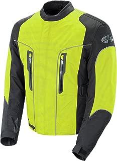 Joe Rocket Alter Ego 3.0 Men's All-Weather Riding Jacket (Neon Yellow, Medium)