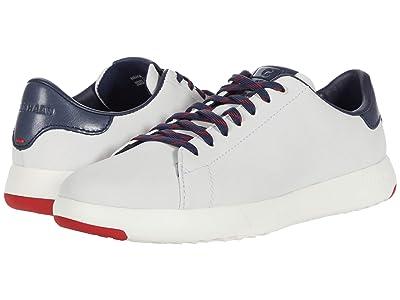 Cole Haan GrandPro Tennis Sneaker (Navy Nubuck/Teal) Men