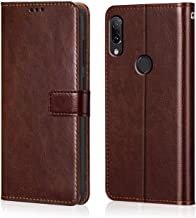 WOW Imagine Redmi Note 7 / 7S / Note 7 Pro Flip Case | Premium Leather Finish | Inside TPU with Card Pockets | Wallet Stand | Shock Proof | Magnetic Closure | 360 Degree Complete Protection Flip Cover Designed for Xiaomi Mi Redmi Note 7 / 7S / Note 7 Pro