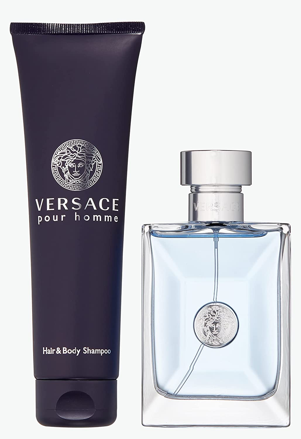 Versace Pour Homme Men 2 pieces Free shipping anywhere in the nation Gift 3.4 Toilette Houston Mall De Oz Eau Set